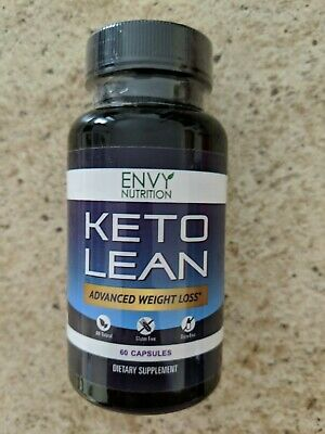 $8.99 • Buy Envy Nutrition Keto Lean Advanced Weight Loss 60 Capsules