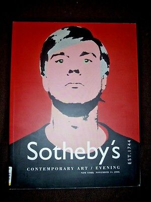 $26.88 • Buy Sotheby's Contemporary Art Catalog  Andy Warhol Roy Lichtenstein Koons Nara
