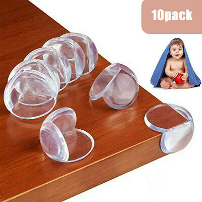 £3.76 • Buy 4 Baby Proofing Safe Glass Desk Table Edge Corner Cushion Guard Protector Bumper
