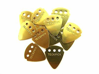 $ CDN29.13 • Buy Dunlop Guitar Picks Techpick (Tech Pick) Aluminum Metal Brass