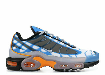 $129.99 • Buy Nike Air Max Plus Premium TN Men's Shoes Blue Black Orange 815994-400 Size 12