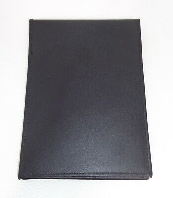 Ex Police Flip Style Leather Notebook Cover Warrant ID Card Holder Wallet A3 BK2 • 9.99£