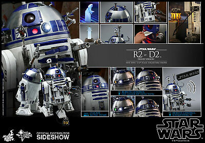 $279.99 • Buy Hot Toys Star Wars R2-D2 Deluxe Version 1/6 Scale Figure Sideshow MMS511 New