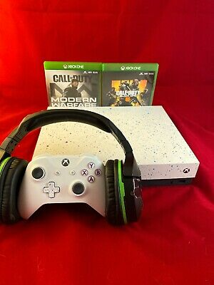$300 • Buy Xbox One X Special Edition 1TB W TurtleBeach Stealth 700 And COD MW And BO4