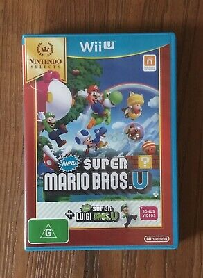 AU39.99 • Buy New Super Mario Bros. U + New Super Luigi U | Nintendo Wii U Game | Like New
