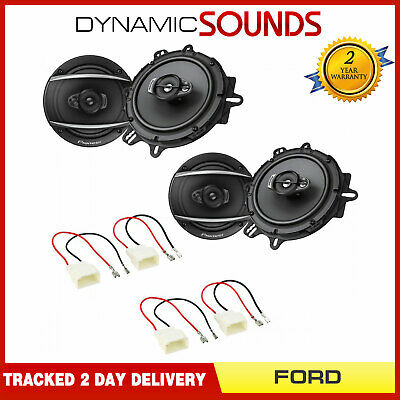 Pioneer 6.5  Front And Rear Door Speaker Upgrade Kit For Ford Fusion 2013 On • 114.95£