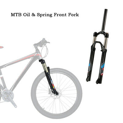 £44.10 • Buy Mountain Bike Suspension Fork 26'' Aluminium Alloy Bicycle Front Pike Fork W9A7