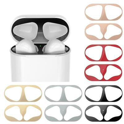 $ CDN3.15 • Buy Metal Dust Guard Protective Film Sticker Cover For Airpods New Accessories O6C1