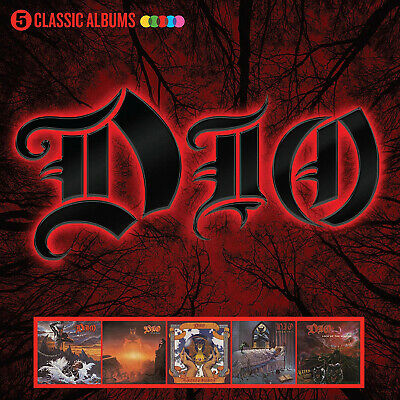 $19.99 • Buy Dio 5 CLASSIC ALBUMS Holy Diver, Last In Line, Sacred Heart, Dream Evil NEW 5 CD