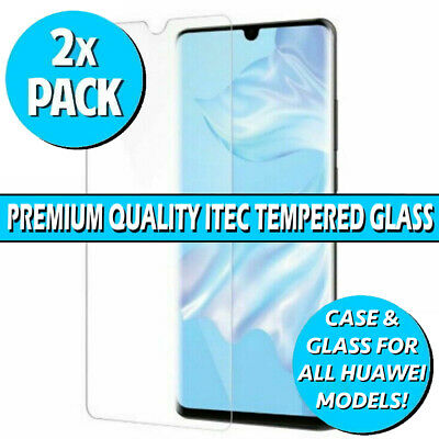 Gorilla Glass Screen Protector For Huawei P20 Pro Lite P Smart 19 P30 Gel Case • 3.49£