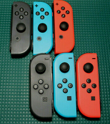$28 • Buy Genuine Nintendo Switch Joy-Con Single Left/Right Blue/Red/Grey - Refurbished