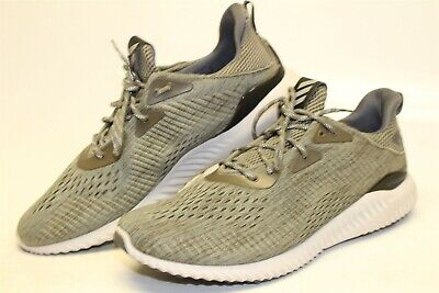 $ CDN7.17 • Buy Adidas Alphabounce Mens 13 Gray Mesh Lace Up Running Cross Training Shoes