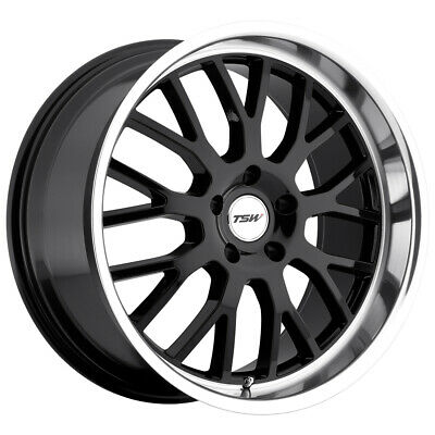 $ CDN344.32 • Buy TSW Tremblant 19x8 5x114.3 (5x4.5 ) +40mm Gloss Black Wheel Rim