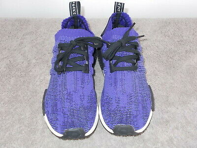 $ CDN52.16 • Buy Adidas NMD R1  Running Athletic Shoes Sneakers Purple Men's Size 8 ~EUC~