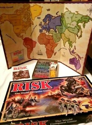 $22.99 • Buy Risk 1993 The World Conquest Board Game Parker Brothers Complete Vintage