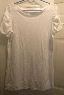 $8 • Buy Lilly Pulitzer White Blouse Size Large