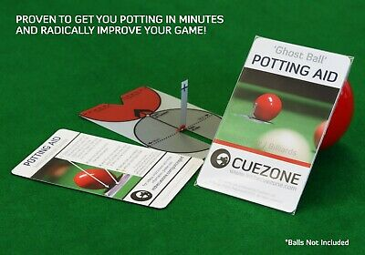 £8.99 • Buy Ghost Ball Potting Aid [Snooker, Billiards & Pool] Gift Accessories For Practice