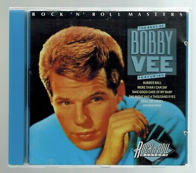 $9.95 • Buy The Best Of BOBBY VEE - CD - 20 Songs / Includes 19 Chart Hits - 6  Top 10
