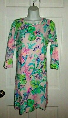$89.99 • Buy Nwt Lilly Pulitzer Amethyst Tint Mermaid In The Shade Linden Dress