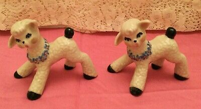 $11.99 • Buy Ceramic Arts Studio - Two Spring Lambs -Very Good Condition- 3 1/4  X 3  Ceramic