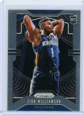 $49.99 • Buy 2019-20 Panini Prizm Zion Williamson Rc Base Rookie Card #248 Pelicans