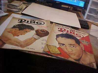 $5 • Buy March, June 1954 Ring Magazines, Paddy Demarco, Bobo Olson On Covers