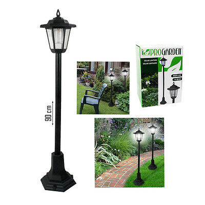 Garden LED Lights Lampost Solar Powered Borders Pathway Driveway Outdoor Patio • 11.99£