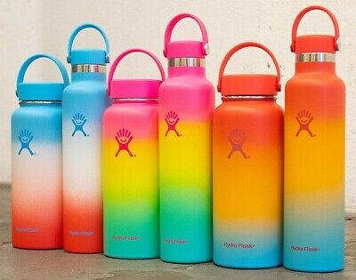 $89.99 • Buy Hydro Flask Shave Ice Limited Edition 32oz - 24oz Hawaiian Ombre Rainbow Colors