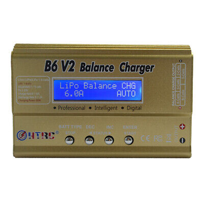 AU39.72 • Buy KQ_ HTRC Imax B6 V2 80W Professional Digital Battery Balance Charger Discharger