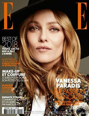 $ CDN10.72 • Buy VANESSA PARADIS_BEST OF 2018_LIVANOS_Fashion Beauty FR ELLE Magazine 12/2018 NEW