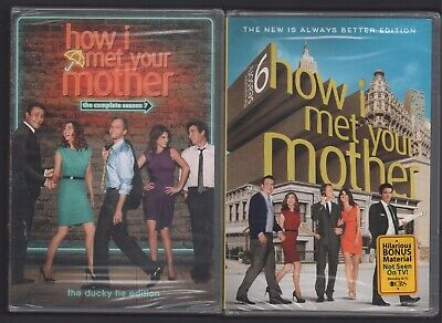 $13.99 • Buy How I Met Your Mother Complete Seasons 6 & 7 NEW SEALED