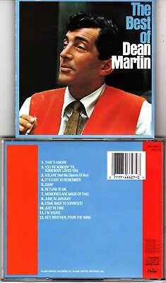 $ CDN20.99 • Buy Lot Of 2 Dean Martin CDs The Best Of & Happy Hour With Very  Rarely Played Read
