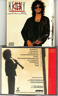 $ CDN18 • Buy Lot Of 2 CDs Kenny G Silhouette Classics In The Key Of G Very Rarely Played Read
