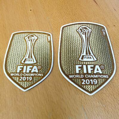 Club World Cup 2019 Champions Badge Patch Liverpool FC  2019-2020 • 5.49£