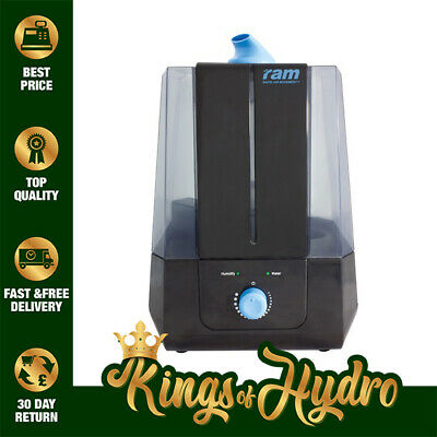 £36.95 • Buy Ram Ultrasonic Humidifier 5L Mist Maker For Hydroponic Grow Rooms
