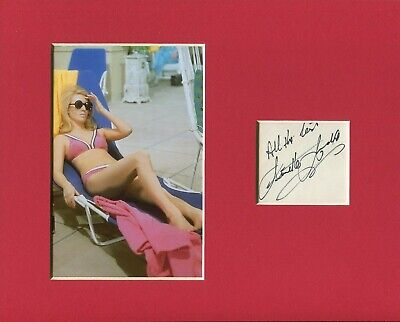 $ CDN52.88 • Buy Annette Andre My Partner The Ghost Avengers Sexy Signed Autograph Photo Display