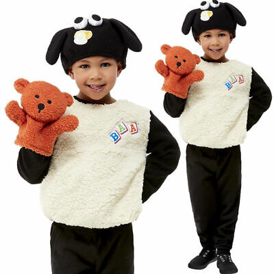 £20.99 • Buy Toddlers Shaun The Sheep Timmy Costume Girls Boys Kids World Book Day Fancy Dres