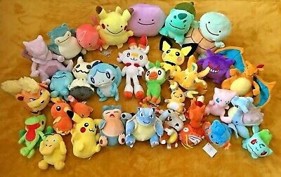 Pokemon Plush Teddy Collection - Choice Of 67 Characters - QUICK DISPATCH - NEW • 6.99£