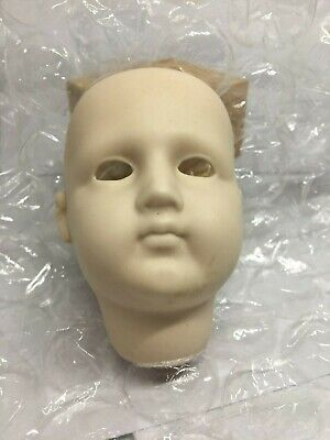 $ CDN17 • Buy 1980 Porcelain Bisque Doll Head - Reproduction - A7
