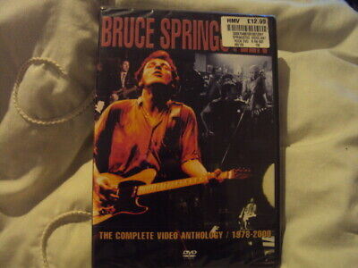 Bruce Springsteen Video Anthology 1978-2000 (2001,DVD)Brand New Sealed.2-Disc • 8.49£