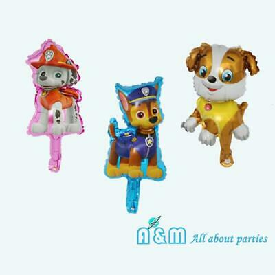 AU7.25 • Buy 3 Paw Patrol Foil Balloon Set Birthday Party Rubble Chase Marshall