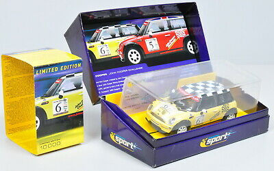 Scalextric C2485A Mini Cooper   John Cooper Challenge   #6/ Unrecorded/ 1:3 2 • 57.21£