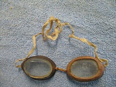 $19.99 • Buy Antique Womans Or Childrens Goggles Steampunk Dieselpunk