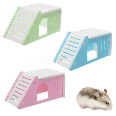 Pet House Villa Cage Ladder Exercise Toys For Hamster Mouse Rat Guinea Pig UK • 5.99£