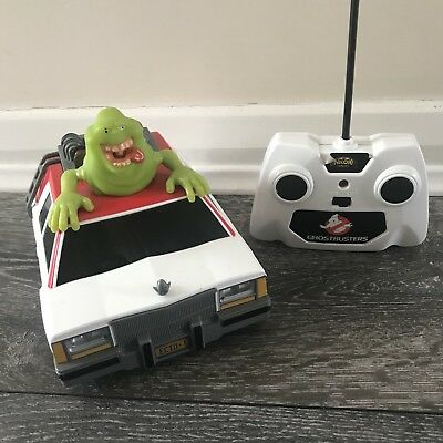 Ghostbusters Ecto-1 NKOK Radio RC Remote Control Car Glowing Slimer Toy 2016 • 17.95£