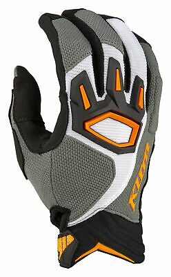 $ CDN67.16 • Buy Klim Dakar Handschuhe Striking Gray M MX Enduro Sommer-Handschuhe Gloves