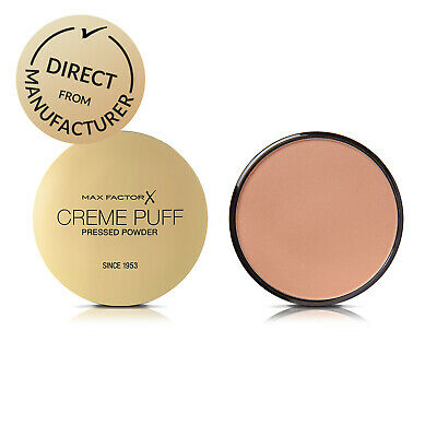 Max Factor Creme Puff Pressed Powder Compact Foundation - Various Colours • 5.99£
