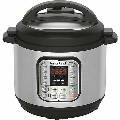 $80 • Buy Instant Pot DUO80 8 Quart 7-in-1 Slow Cooker - Silver