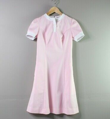 AU57.39 • Buy Vintage Dress | Vintage Clothing | Barco Waitress Dress | 80s Vintage