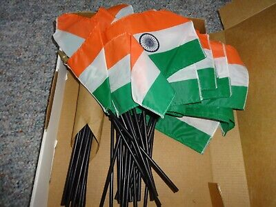 $12 • Buy Lot Of 35 India Flag Indian Country Flags New  4  X 6